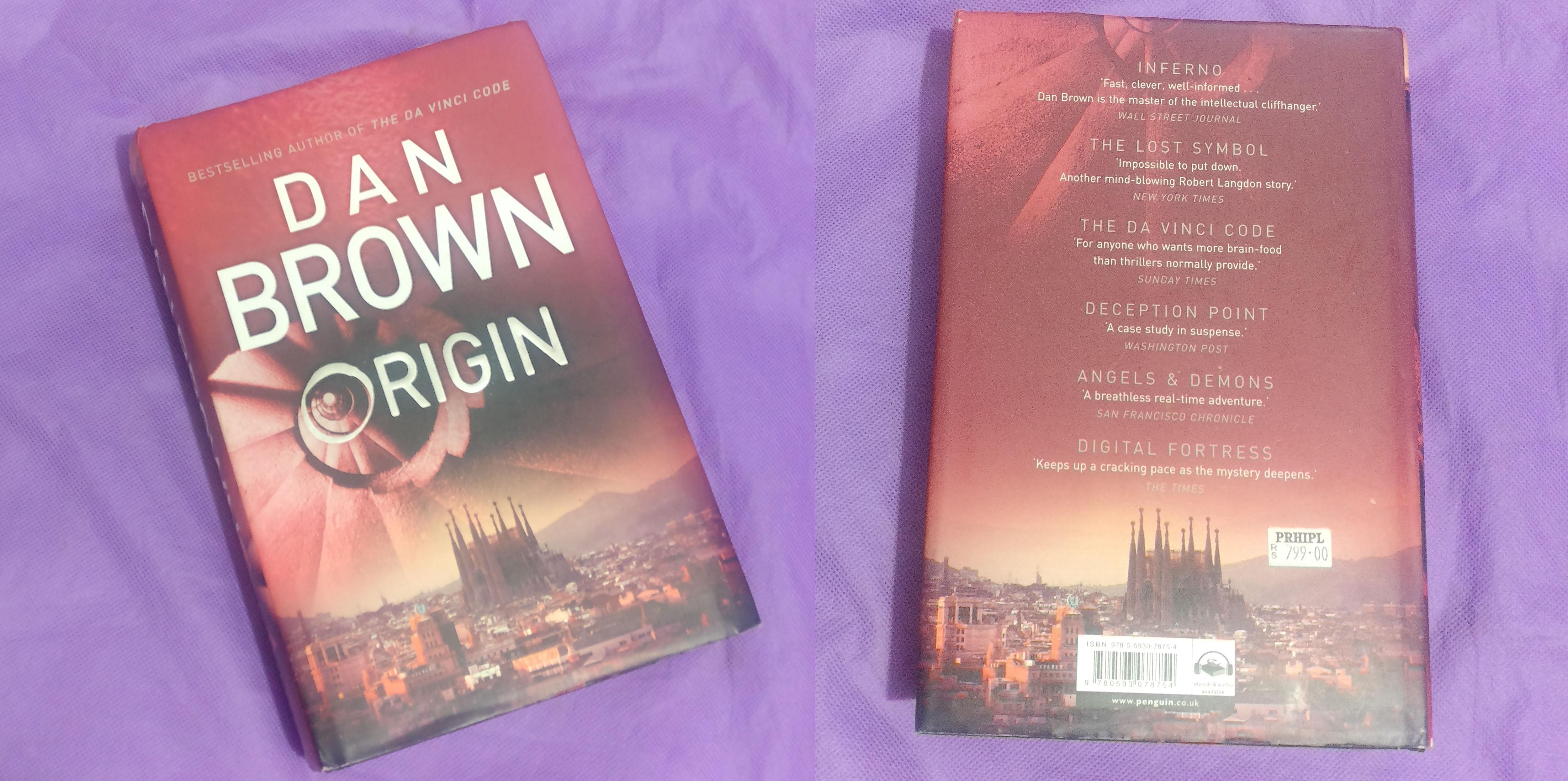 Book Review Origin by Dan Brown   Excited Neurons